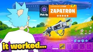 I Glitched The ZAPATRON Back.. (RAREST GUN)