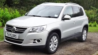 preview picture of video 'Volkswagen Tiguan SE Tsi now sold by Taylors Pitstop Garage in Horley West Sussex'