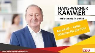 Wählen gehen - mit beiden Stimmen für die CDU!