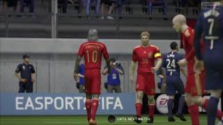 FIFA15「アントシアニン」17試合目PS4