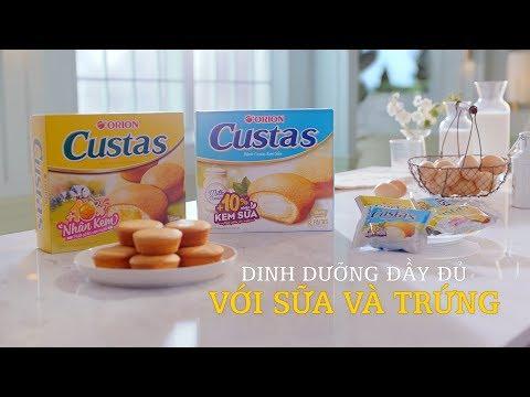 CUSTAS - Dinh Dưỡng Đầy Đủ Với Sữa Và Trứng