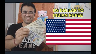 US DOLLAR RATE IN INDIA - UNITED STATES CURRENCY IN HINDI - 1 USD IN INDIAN RUPEES - 1 USD TO INR
