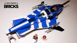 Lego Star Wars 75087 Anakins Custom Jedi Starfighter Speed Build Review