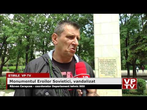 Monumentul Eroilor Sovietici, vandalizat