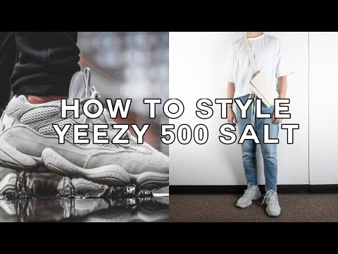 "5b7b1e689 Adidas Yeezy 500 ""salt"" on feet   dress tutorial 🔥🔥🔥 - смотреть онлайн  на Hah.Life"