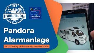 Pandora Alarmanlage für Wohnmobile und Kastenwagen mit GPS-Ortung, Smartphone-App und Home-Modus