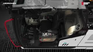 Hidromek 390 LCH4 lánctalpas forgókotró gép