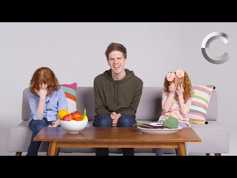 Kids Describe Color to a Blind Person