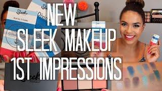 NEW Sleek Makeup First Impressions | samantha jane