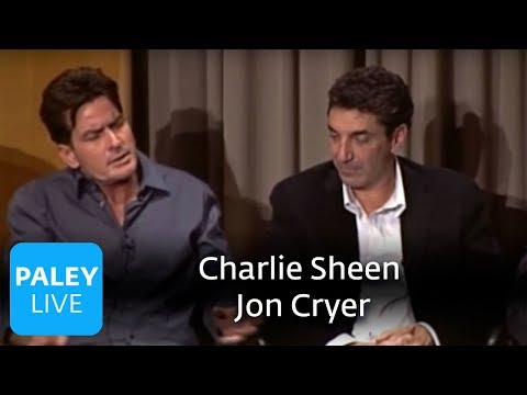Two and a Half Men - Charlie Sheen and Jon Cryer (Paley Center Interview)