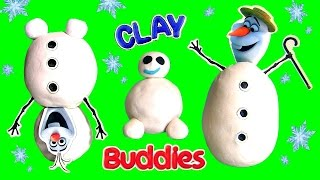 Surprise Clay Buddies OLAF Activity Book Disney Frozen Fever Snowgies Upside Down Olaf Play-Doh