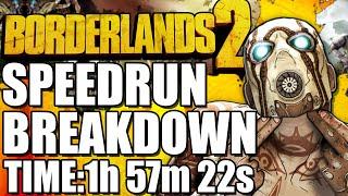 How Speedrunners Beat Borderlands 2 In 1:57:22 (World Record Run)