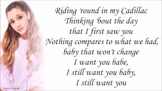 Ariana Grande - Cadillac Song (with Lyrics)