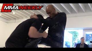 UFC 234: Anderson Silva Workout Training