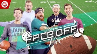 Download Youtube: DUDE PERFECT Football Skills Edition | FACEOFF