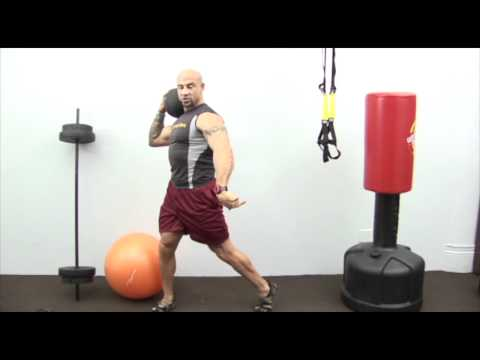 How to Perform Medicine Ball Chops