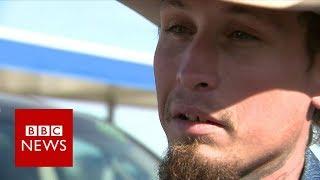 Texas shooting: Suspect-chaser describes pursuit of shooter - BBC News