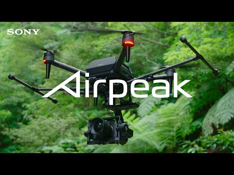 Sony Airpeak drone additional coverage