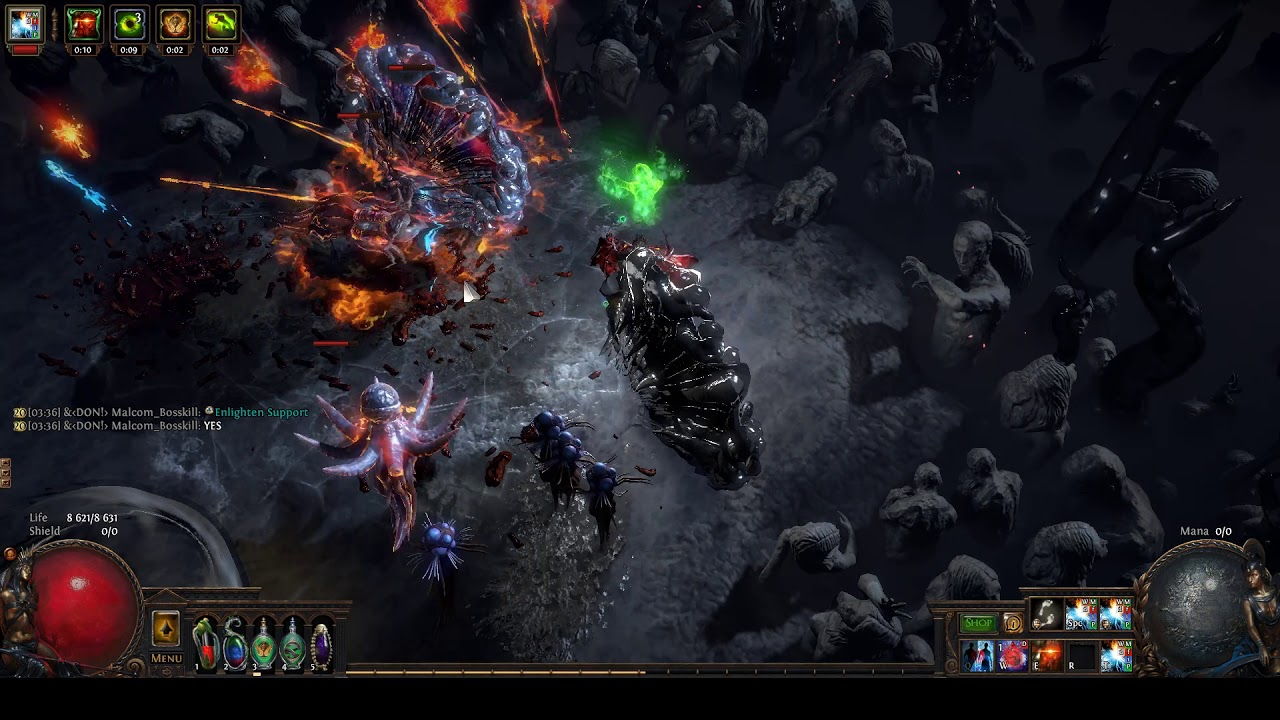 3 5 Scion Fire Elemental Hit Post Chin Sol Nerf All Content Deathless Uber Elder Video Poe 3 5 Scion Build Build Of Exile Enlighten support is a support skill gem item in path of exile. build of exile