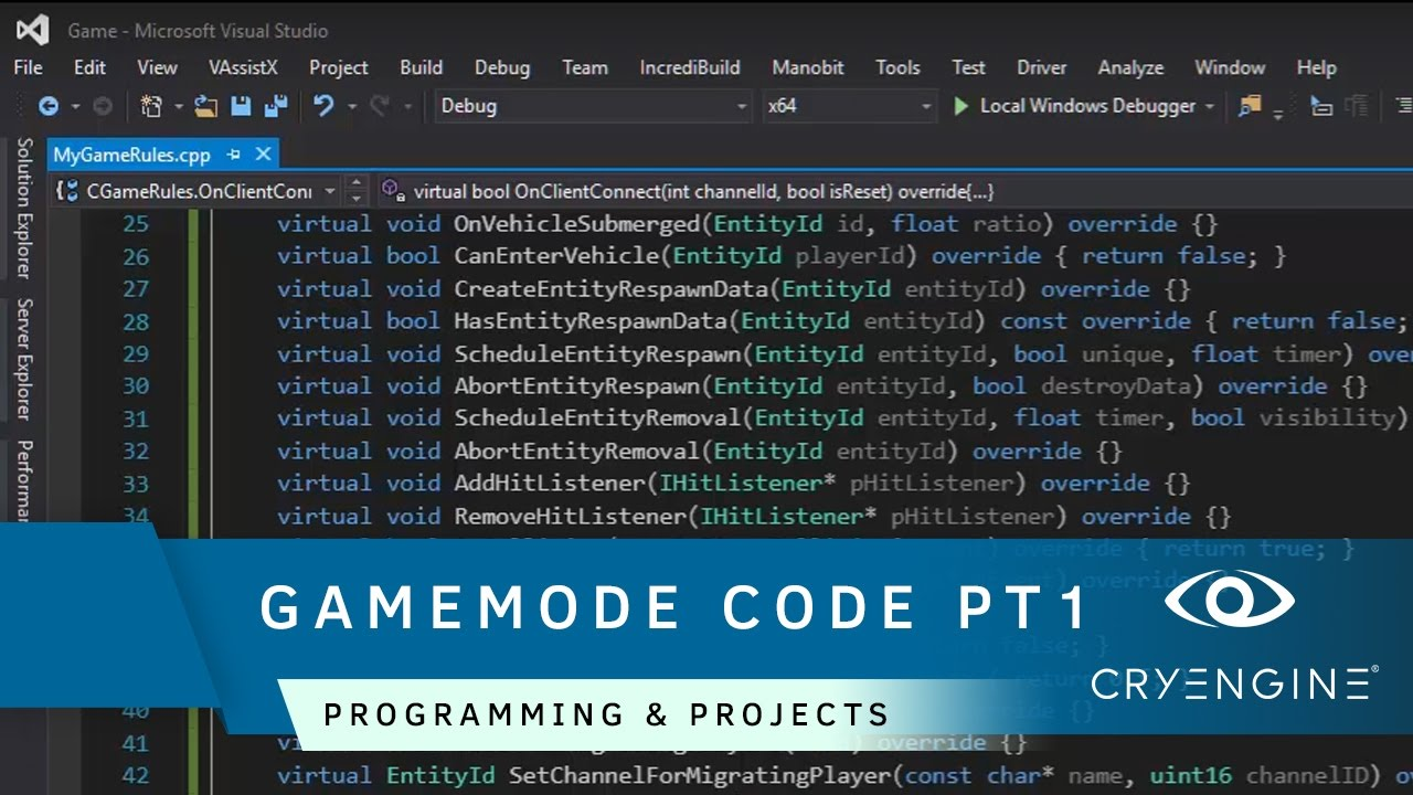 How to create a player and gamemode in code [Part 1] | Programming & Projects
