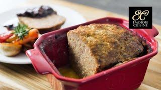 ミートローフ   Meatloaf recipe