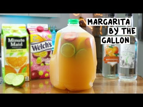 Video Margarita by the Gallon