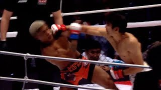 Арман Ашимов нокаутировал очередную жертву на M-1 Challenge 85!