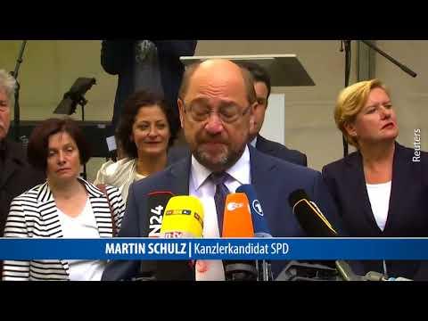 Eva Högl macht den Teletubbie bei Statement von Martin Schulz.