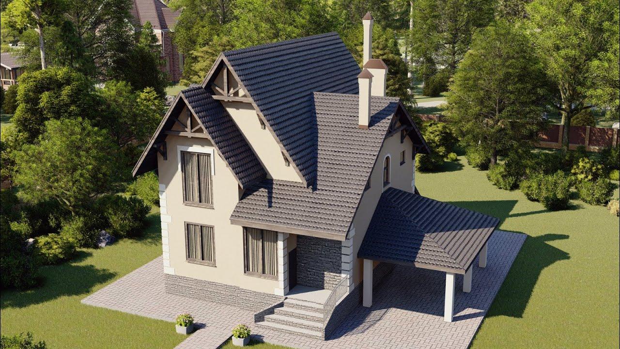 Двухэтажный жилой дом на своем участке 138 м2