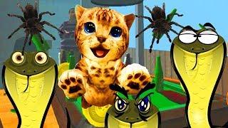 СИМУЛЯТОР КОТА приключение мульт игры про кошек и собак развлекательное видео для детей FGGTV