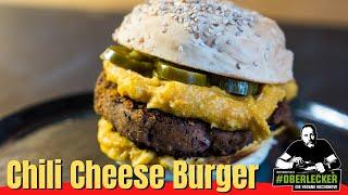Chili Cheeese Burger... Vegan und Protein satt