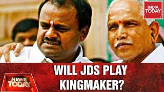 Will JDS Play Kingmaker As Yeddyurappa's Fate Hinging On Bypolls ?   News Today