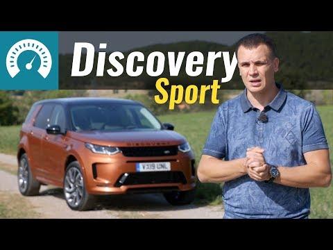 Land Rover Discovery Sport Внедорожник класса J - тест-драйв 4