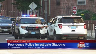 Man stabbed in downtown Providence