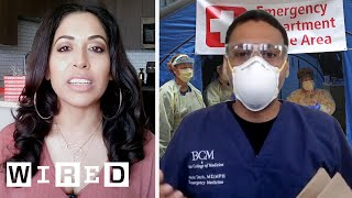 ER Doctor Explains How They're Handling COVID-19 | WIRED