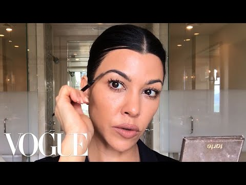 Kourtney Kardashian's Guide to Natural-ish Masking and Makeup | Beauty Secrets | Vogue