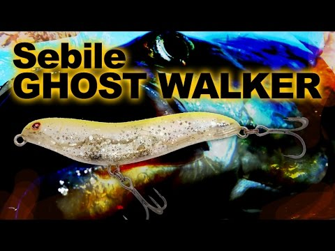 Sebile Ghost Walker 52 videó
