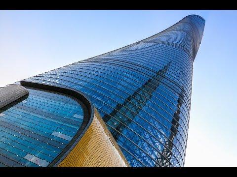 Skyscrapers TORRE de Shanghái 632 m - Lujiazui distrito de Pudong China