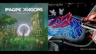 LA Cool - Imagine Dragons vs Panic! At The Disco (Mashup)