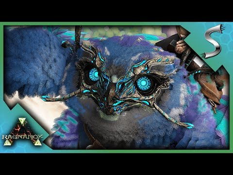 NITEOWL IS REBORN! SNOW OWL BREEDING & MUTATIONS + ALLO TAMING - Ark: Survival Evolved [Cluster E49]