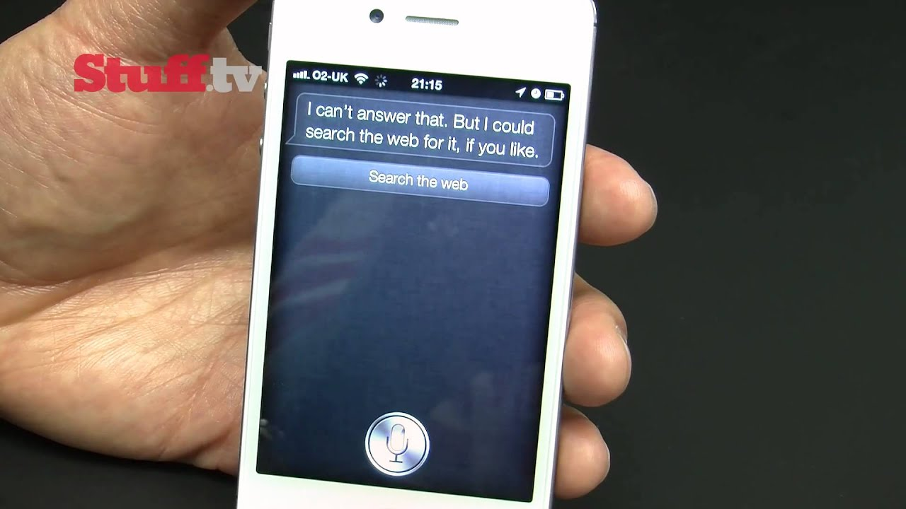 Real-Life iPhone 4S' Siri Demonstration Is Pretty Damn Impressive