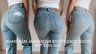 8 JEANS THAT MAKE YOUR BUTT LOOK GOOD | Best Denim Of 2020