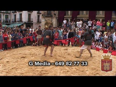 Vídeo del mercado romano del Burgo.