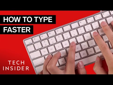 Learn How to Type Faster on the Keyboard