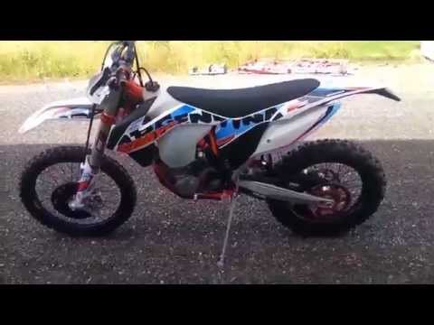 KTM 500EXC SIXDAYS 2015 WALKAROUND AND STARTUP