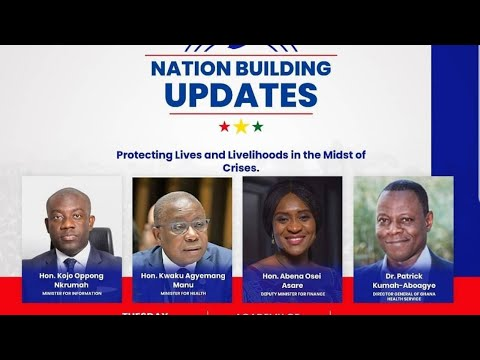NATION BUILDING UPDATES, PROTECTING LIVES AND LIVELIHOODS IN THE MIDST OF CRISES. (OCTOBER 20, 2020)