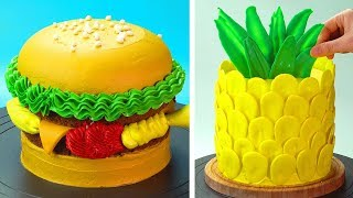 Most Satisfying Cake Decorating Ideas 😍 How to Make Cake Recipes | So Yummy Cake Tutorials