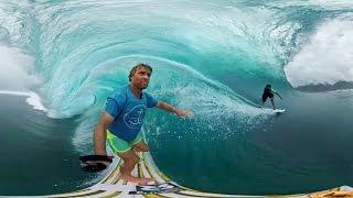 Смотреть онлайн Настоящий серфинг в 360 градусов