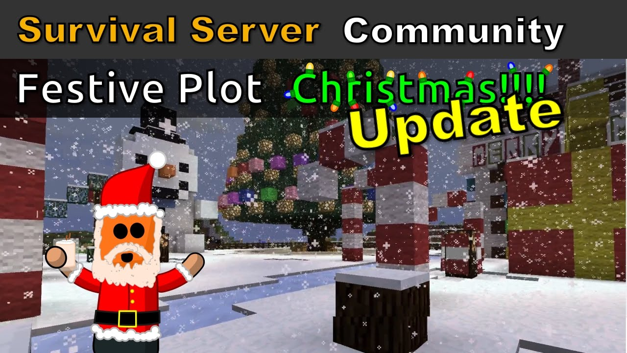 Minecraft Spotlight - Festive Plot