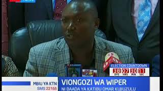 Wabunge wa chama cha Wiper wampuzilia mbali aliyekuwa katibu, Hassan Omar baada ya kujiuzulu